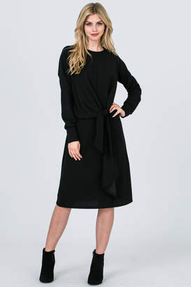 Maya's Place Front Tie Dress