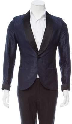 Louis Vuitton Monogram Silk Tuxedo Jacket