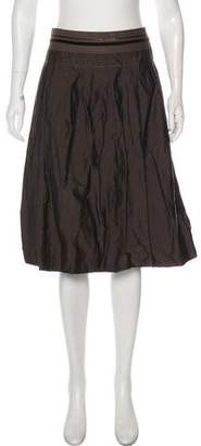 Schumacher Dorothee Knee-Length Pleated Skirt
