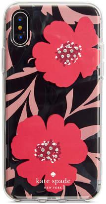Kate Spade Jeweled Poppy Field iPhone 8/8 Plus/X Case
