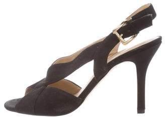 MICHAEL Michael Kors Cutout High-Heel Sandals