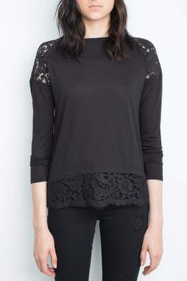 Generation Love Lace Hem Top