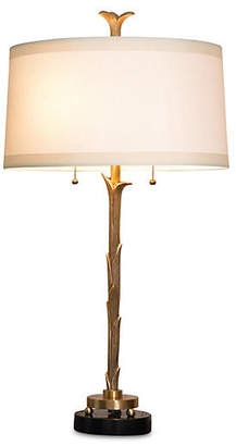 Global Views Organic Table Lamp - Antiqued Brass
