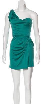 Issa One-Shoulder Mini Dress