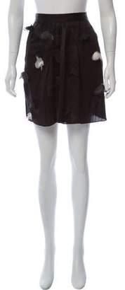 Dolce & Gabbana Silk Mini Skirt