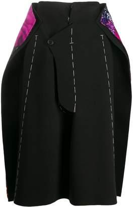 Maison Margiela oversized stitched skirt