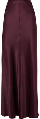 Joseph Theo Silk-satin Maxi Skirt