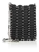 Paco Rabanne Women's Iconic Mini Leather Shoulder Bag - Black