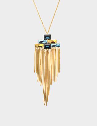 Aris Geldis Terrano fringe necklaces