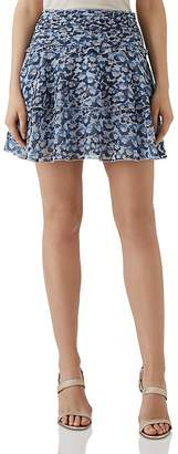 Reiss Brisa Floral Mini Skirt