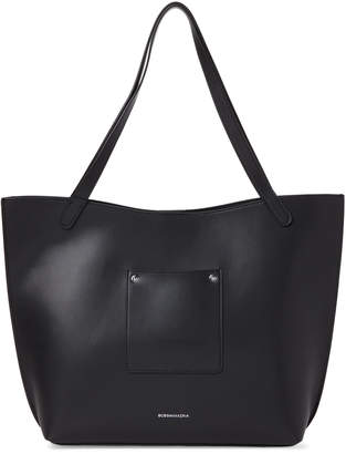 BCBGMAXAZRIA Fiorella Leather Tote