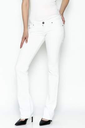Dear John Runaway White Jeans