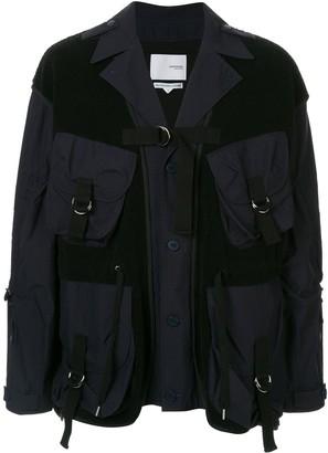 Yoshio Kubo Yoshiokubo military style blazer jacket