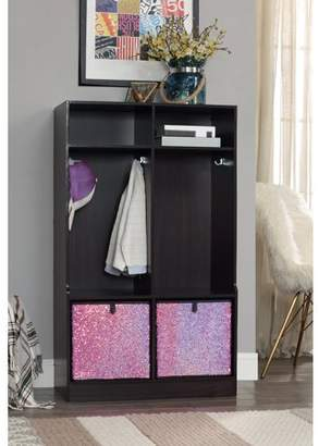 Organize It All Sequin Drawer (Pink/Black), Set of 2