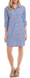 Karen Kane Stripe Shirtdress