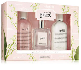 philosophy Amazing Grace Three-Piece Mothers Day Set