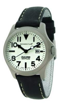 Momentum Women's 1M-SP01W2B Atlas Classic Analog with Titanium dial Watch