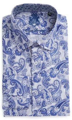 Men's English Laundry Trim Fit Paisley Dress Shirt $98.50 thestylecure.com