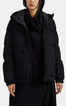 Yohji Yamamoto Regulation Women's Wool Down Puffer Jacket - Black