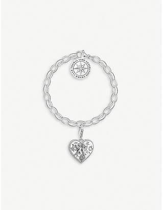 Thomas Sabo Angel Heart sterling silver charm bracelet