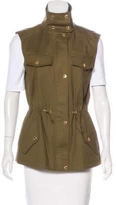 Michael Kors Zip-Up Utility Vest