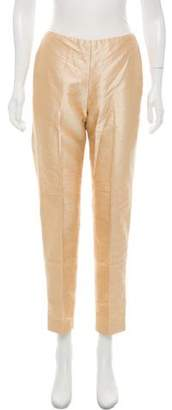 Ralph Lauren Black Label Silk Shantung Pants