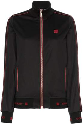 Givenchy logo embroidered track jacket