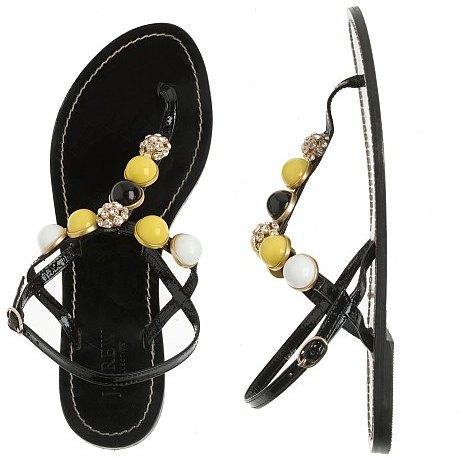 Corossol jeweled sandals