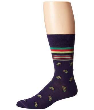 Etro Striped Paisley Socks