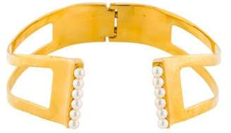 Vita Fede Pearl Lia Choker Necklace
