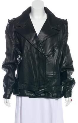 Vetements x Schott 2017 Leather Jacket