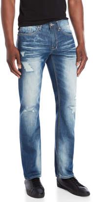 Buffalo David Bitton Six Basic Slim Straight Jeans