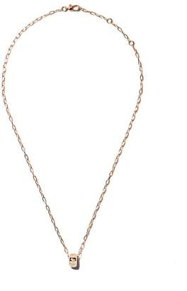 Pomellato 18kt rose gold Iconica diamond pendant necklace