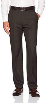 Haggar J.M Men's Premium Performance Stretch Stria Plain Front Suit Separate Pant
