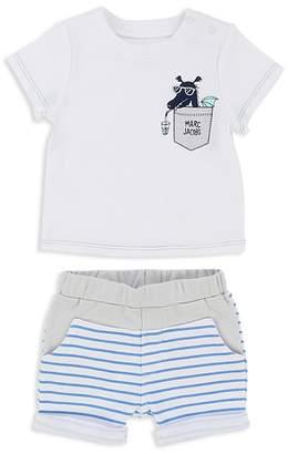 Little Marc Jacobs Boys' Dragon Tee & Striped Shorts Set - Baby