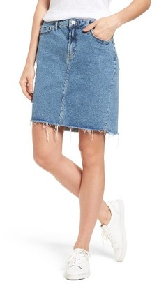 Women's Mavi Jeans Mila Denim Skirt $88 thestylecure.com
