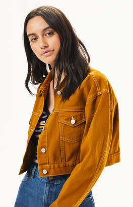 PacSun Vintage Cropped Trucker Jacket