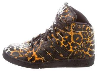 Jeremy Scott Instinct Animal Print Sneakers