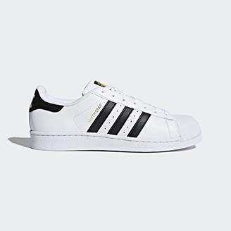 adidas Men's Superstar Shoe Core Black/White