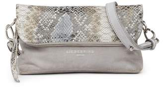 Liebeskind Berlin Nyala Snake Embossed Leather Crossbody Bag