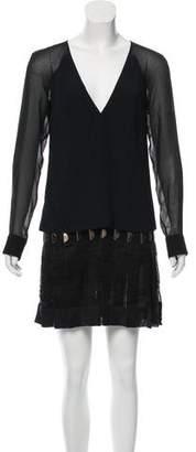 Versace Long Sleeve Mini Dress w/ Tags