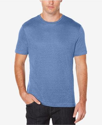 Perry Ellis Men's Big & Tall Linen T-Shirt $49.50 thestylecure.com