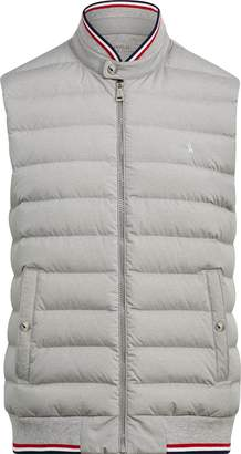 Ralph Lauren Down-Panel Double-Knit Vest