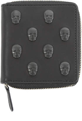 Lucien Pellat-Finet Lucien Pellat-FinetSkull Studs Small Zip Wallet