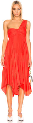 A.L.C. Marbury Dress in Neon Orange | FWRD