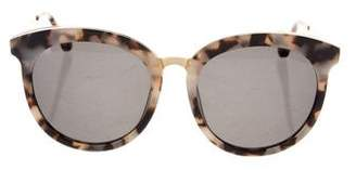 Gentle Monster Tinted Circular Sunglasses