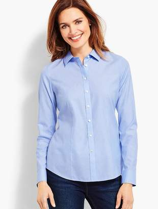 Talbots The Perfect Long-Sleeve Shirt - End-On-End