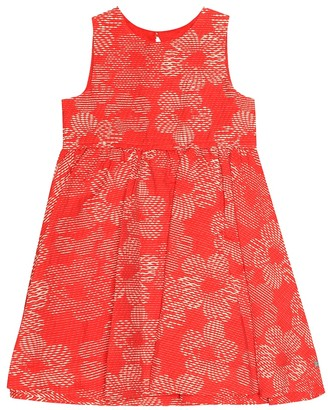 Tartine et Chocolat Cotton jacquard dress