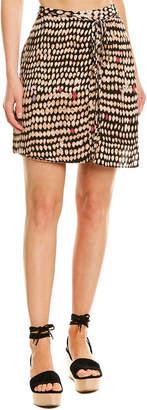 BCBGMAXAZRIA Side Tie Skirt