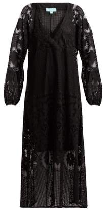 Melissa Odabash Melissa Crochet Lace Maxi Dress - Womens - Black
